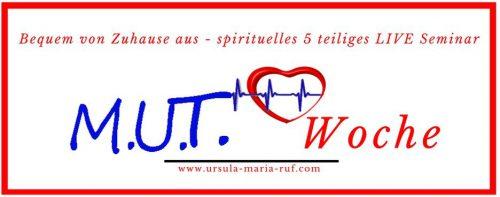 Mutwoche - spiritueller Fernlernkurs